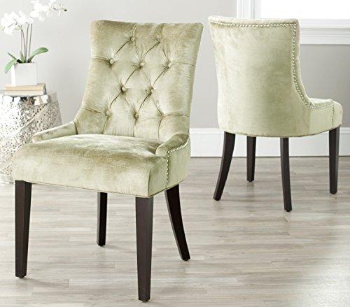 Safavieh Set of 2 Ashley Side Chairs, Gold -  MCR4701E-SET2