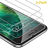 UNBREAKcable Tempered Glass Screen Protector Compatible with Apple iPhone 6s/6 Plus 5.5 Inches, [Support 3D Touch] 3-Pack 9H 2.5D Premium Scratch Resistant Screen Protector Film with Installation Kit.