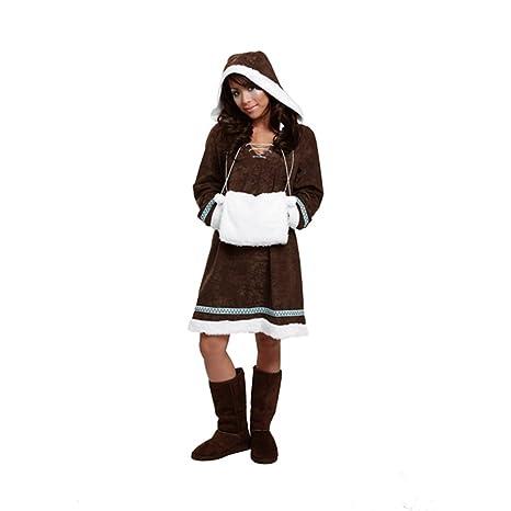 Disfraz de esquimal para disfraz de esquimal Inuit del Carnaval ...