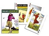 Piatnik Golf Art Playing Cards (single Deck)