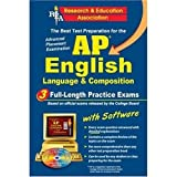 AP English Language & Composition w/CD (REA) - The Best Test Prep for the AP (Advanced Placement (AP) Test Preparation)