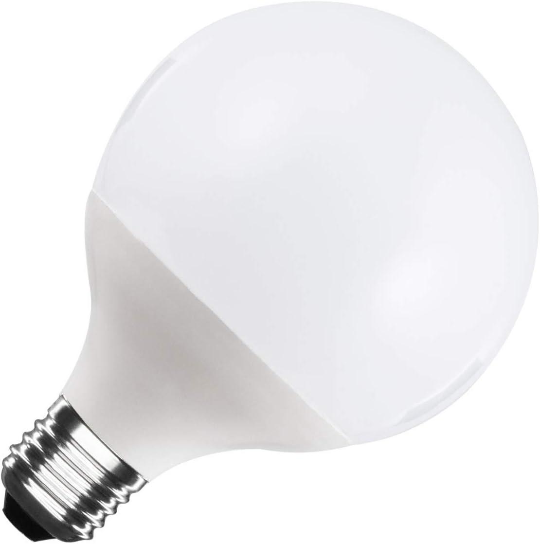 Bombilla LED E27 Casquillo Gordo G95 15W Blanco Frío 6000K - 6500K