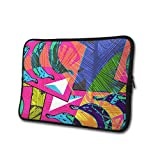 SWEET-YZ Laptop Sleeve Case Tropic Exotic Banana Palm Leaves Notebook Computer Cover Bag Compatible 13-15 Inch Laptop