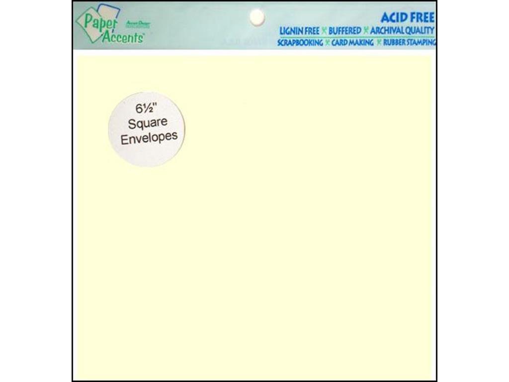 Accent Design ペーパーアクセント ADPaperEnvelope65x6512枚 クリーム用紙 B0018NBKJI