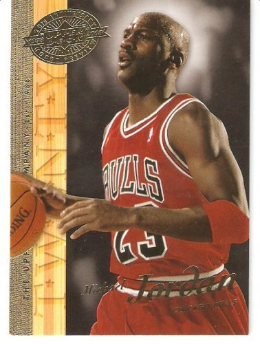 (2008 Upper Deck 20th Anniversary Hobby Preview # UD-1 MICHAEL JORDAN (Chicago Bulls/North Carolina Tar Heels) Basketball Trading Card Case)