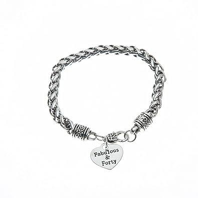 Amazon 40th Birthday Charm Bracelet Gifts For Women