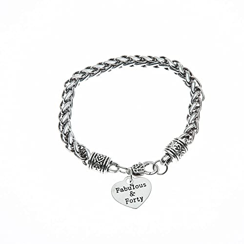 Amazon 40th Birthday Charm Bracelet Gifts For Women