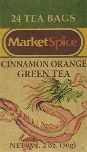 Market Spice Cinnamon Orange Green Tea - 24 Count