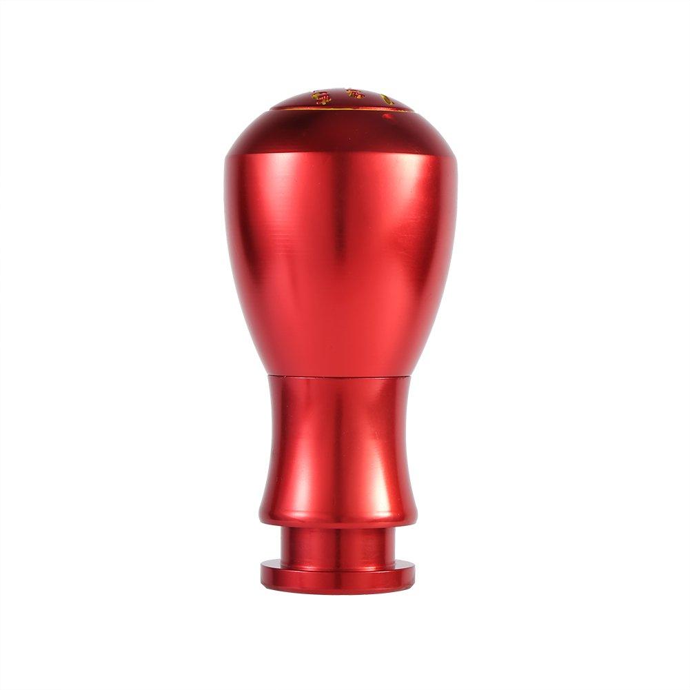 Color : Rojo Pomo para Palanca de Cambios Universal Perilla Manual de 5 Velocidades Auto Manual//Autom/ática Interior para Coche VGEBY