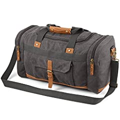"""Basic Information:Dimension: L19.69""""*H11.03""""*D9.45""""Shoulder strap: 47.25""""Net weight: 2.76 lbRemarks:1. This product is made from high quality material and has that wonderful new canvas aroma. If you are not used to it, you could just open the..."""