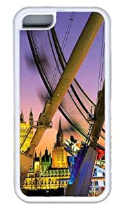 City Night Landscape Custom Case for iPhone 5C TPU White by Cases & Mousepads