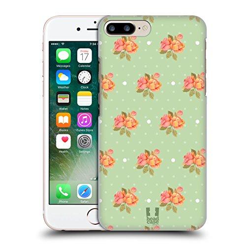 Head Case Designs Primavera Pattern Rose Nostalgiche Cover Retro Rigida per Apple iPhone 7 Plus / 8 Plus