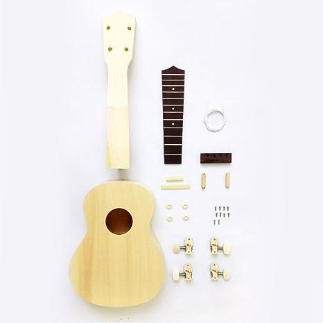 Amazon zimo diy ukulele make your own ukulele hawaii ukulele zimo diy ukulele make your own ukulele hawaii ukulele kit 21in solutioingenieria Images