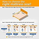 SleepX Dual Comfort 5-inch Medium Queen Size Mattress (78*60*5 Inches_Foam)