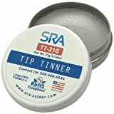 SRA Lead Free Tip Tinner, 21 g container