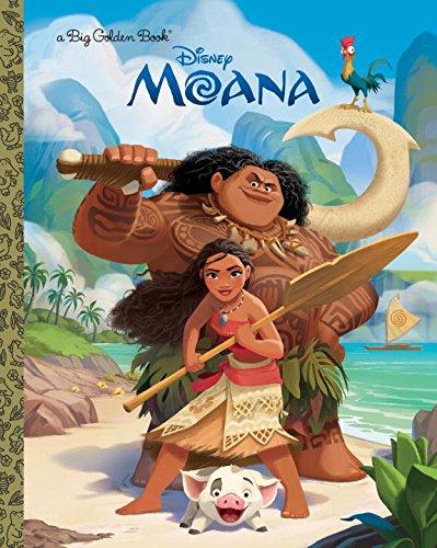 Moana Big Golden Book (Disney Moana) [RH Disney] (Tapa Dura)