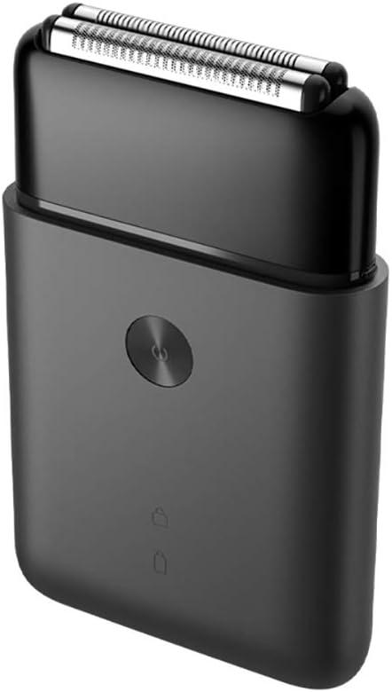 Gooplayer para Xiaomi Mijia Electric Razor 2 Blade Shaver USB recargable inteligente Mini afeitado en húmedo lavable barba recortadora para hombre viaje: Amazon.es: Salud y cuidado personal