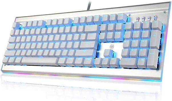 Teclado para juegos Juegos mecánicos colorido del teclado con ...
