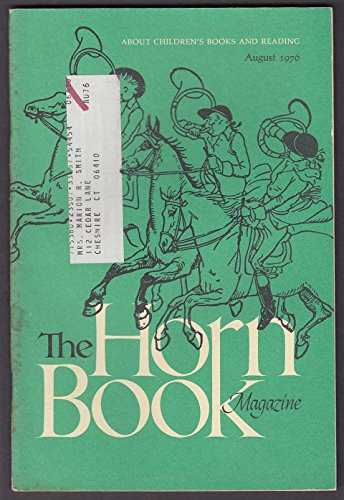 Cooper Horn - The HORN BOOK Susan Cooper Chris Conover Leo & Diane Dillon ++ 8 1976