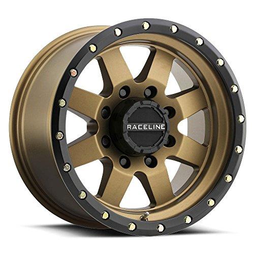 Used, Raceline 935BZ Defender 17x9 8x165.1 -12mm Bronze/Black for sale  Delivered anywhere in USA
