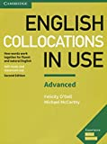 capa de English Collocations in Use Advanced Book with Answers: How Words Work Together for Fluent and Natural English