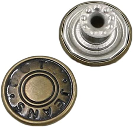 10 boutons jeans rivets Boutons Jeans Boutons 17mm 29