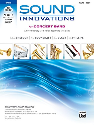 Sound Innovations for Concert Band, Bk 1: A Revolutionary Method for Beginning Musicians (Flute Book & Online Media)
