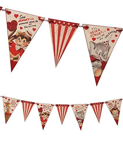 bethany-lowe-retro-style-wild-about-you-valentines-day-pennant-garland