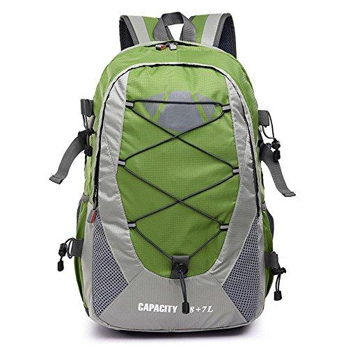 hombres y mujeres mochila mochila mochila de viaje de deportes al aire libre , light green Green