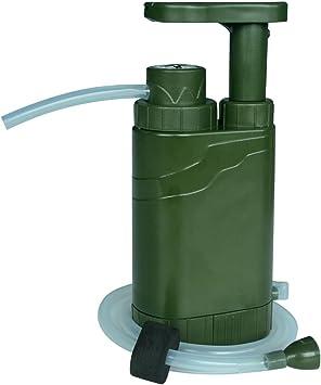 Claro Agua al aire libre bomba de agua filtro purificador de agua ...