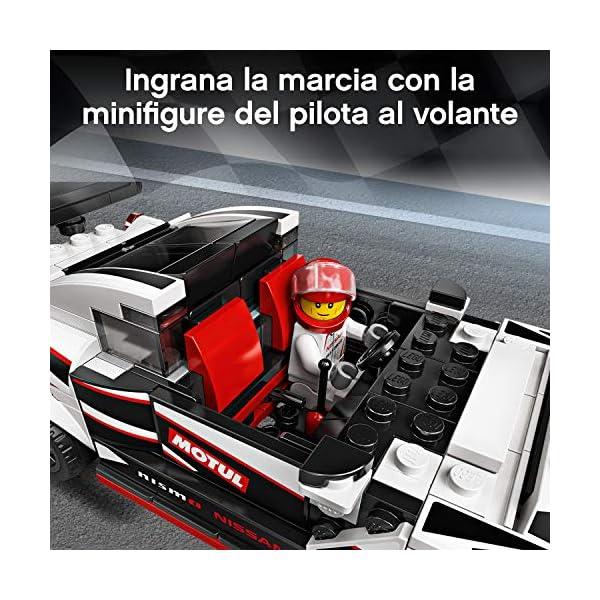 LEGO Speed Champions Nissan GT-R NISMO con Minifigure, Modello Realistico e Molto Dettagliato della Famosa Auto Sportiva… 5 spesavip