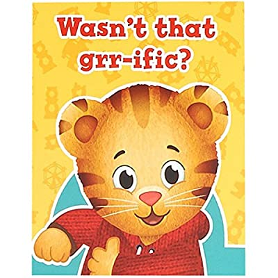 BirthdayExpress Daniel Tiger Party Supplies - Thank You Notes (8): Toys & Games
