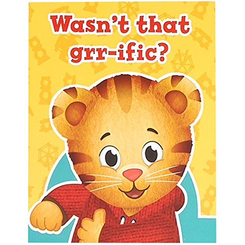 (BirthdayExpress Daniel Tiger Party Supplies - Thank You Notes)