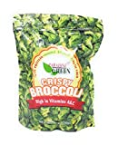 Paradise Green Crispy Whole Broccoli Crisps 6oz (1 Pack)