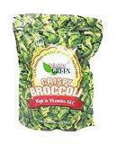 Paradise Green Crispy Whole Broccoli Crisps 6oz (1 Pack)