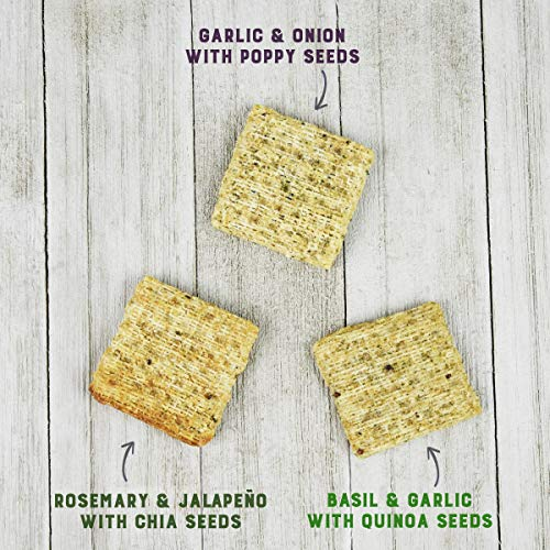 Triscuit Rosemary & Jalapeno with Chia Seeds Crackers (Pack of 6) Non-GMO