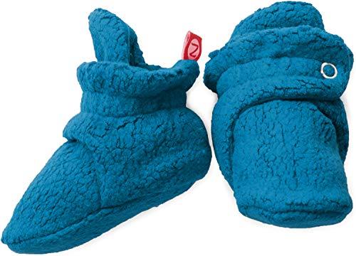 Zutano Unisex-Baby Cozie Fleece Bootie, Pagoda, 12 Months from Zutano