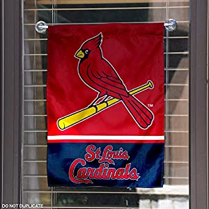 St. Louis Cardinals Double Sided Garden Flag