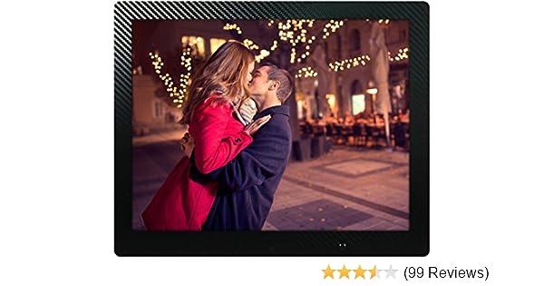 Amazon 15 Inch Hd Digital Picture Frame Carbon Fiber 1080p