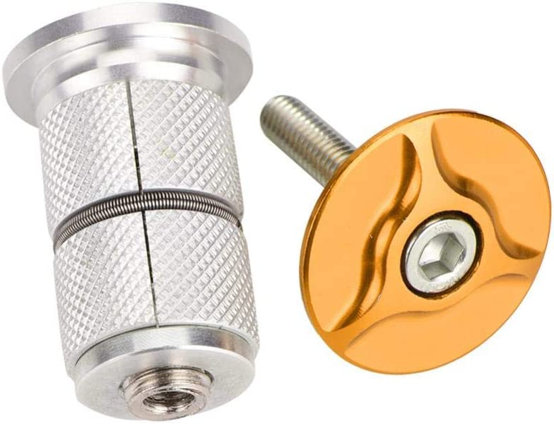 // 1,25 Pulgadas 28,6 mm 24,5 mm Alomejor Tacos de aleaci/ón de Aluminio para Bicicleta Tapa Superior para Extensor de Horquilla de 1 Pulgada
