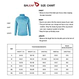 BALEAF Men's 1/4 Zip Pullover UPF 50+ Running Sun