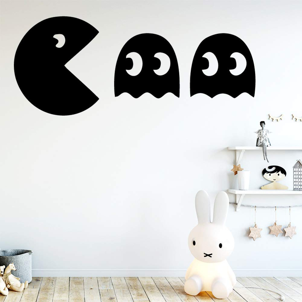 BFMBCH Popular Pac-Man Pegatinas de pared Habitación para niños ...