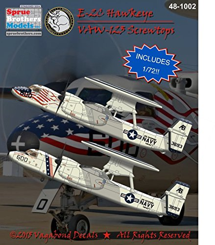 Vagabond Decals VGB481002 1:48 & 1:72 E-2C Hawkeye for sale  Delivered anywhere in USA
