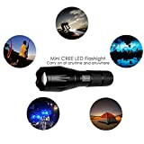 Tactical-Led-Flashlight-Torch-Refun-A100-High-Powered-Flash-Light-Rechargeable-Tac-Light-Water-Resistant-Handheld-Flashlight-with-Zoom-Function-and-5-Modes18650-Battery-and-Charger-Included