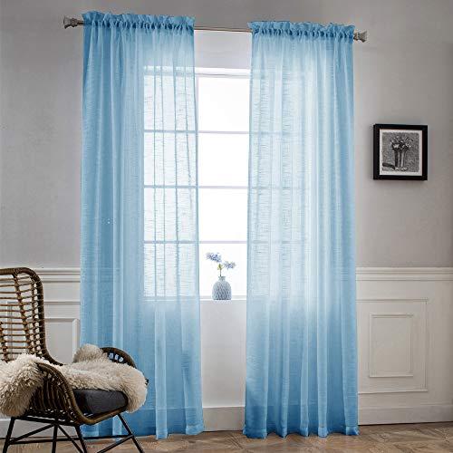 (NICETOWN Sheer Curtains 52