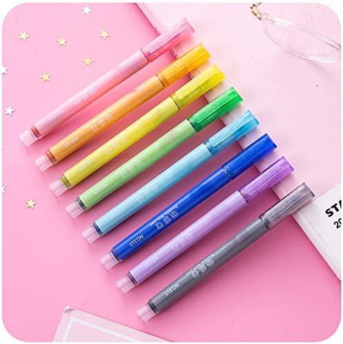 [해외]8pcs Dual-Colored Glitter Pens Quick-Dry Gel Pens for Adult Coloring Books Craft Doodling / 8pcs Dual-Colored Glitter Pens Quick-Dry Gel Pens for Adult Coloring Books Craft Doodling