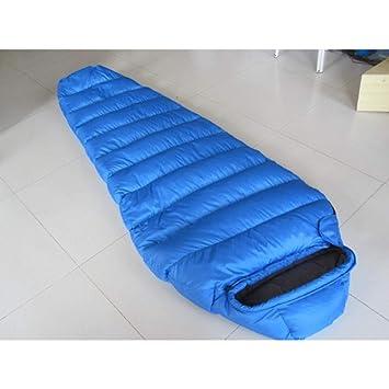 LOLIVEVE Saco De Dormir para Acampar Saco De Dormir Momia Saco De Dormir para Adulto Al Aire Libre Camping Oficina De Ocio: Amazon.es: Deportes y aire libre