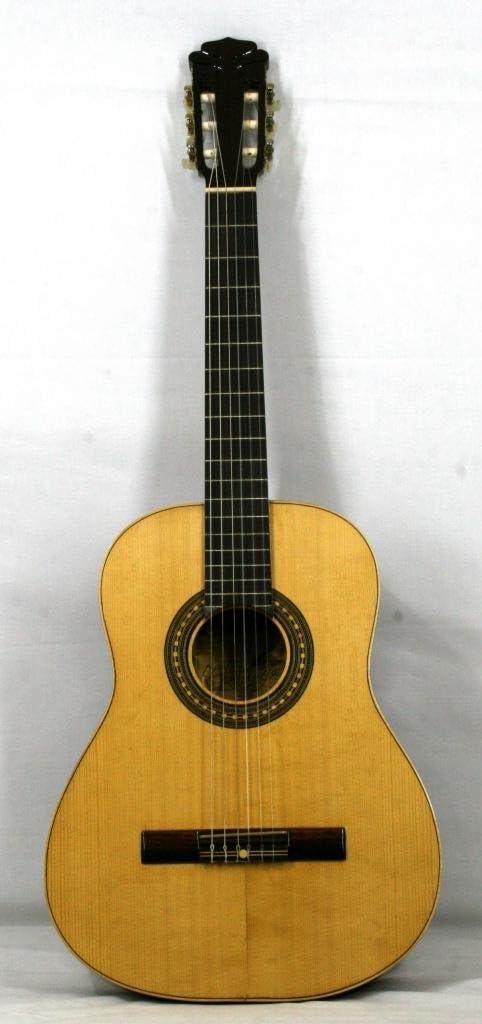 Musikalia Guitarra Classic Mod. Serenade con trabajo artesanal especial, Vintage, Ricco mosaico Alla Buca, de liuteria–Hecha Entre El 1970y el 1990