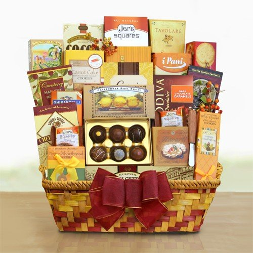 Bountiful Blessings Gift Basket by The Gift Basket Gallery