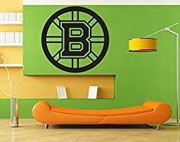 Boston Bruins NHL Logo 045 Sport Decal Room Decor sticker vinyl decal wall art